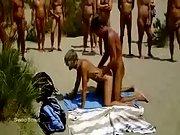 Swingers mature public sex doggystyle nudist beach