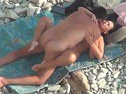 Sex on the beach outdoor nudist naturist hidden camera
