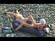Oral sex nude mature voyeur outdoors amateur couple beach